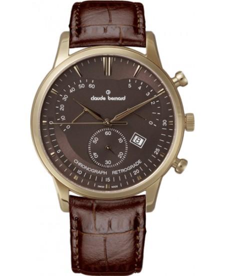 Claude Bernard Classics Chronograph/Retrograde 01506-37R-BRIR
