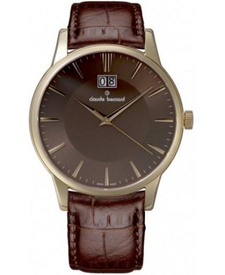 Claude Bernard Classic Gents 63003-37R-BRIR