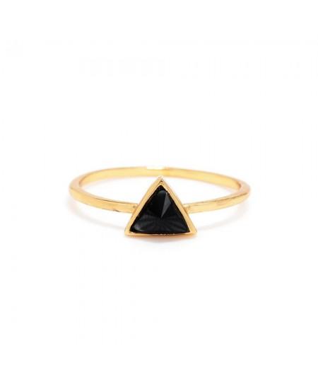 Delta Bezel Ring