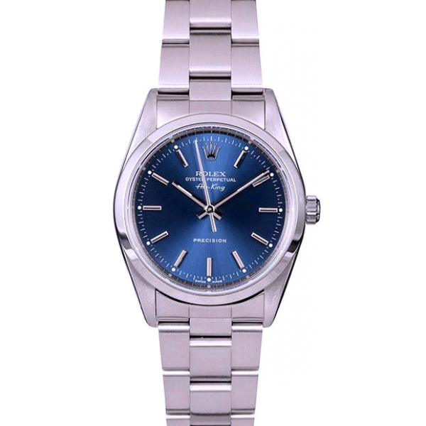 Rolex AIR-KING 14000 Blue Index Dial TT