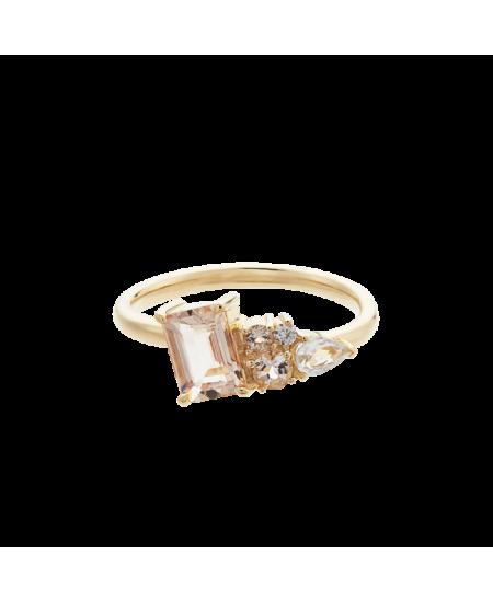 MEJURI Italic Cluster Ring rg-meju101