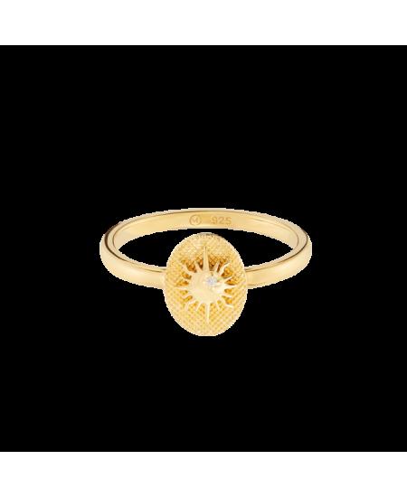 MEJURI Tarot Sun Ring rg-meju67